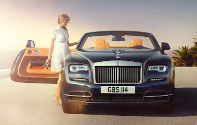 Rolls-Royce Dawn Fashion Inspired special edition0