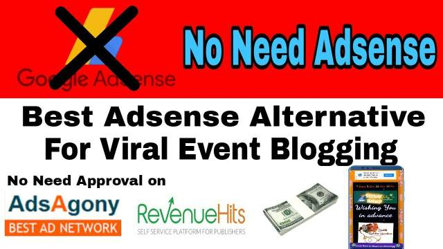 Two Best Adsense Alternative For Wishing Website