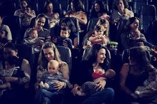 Mamães contam com mais uma sessão CineMaterna na próxima quarta-feira (25)