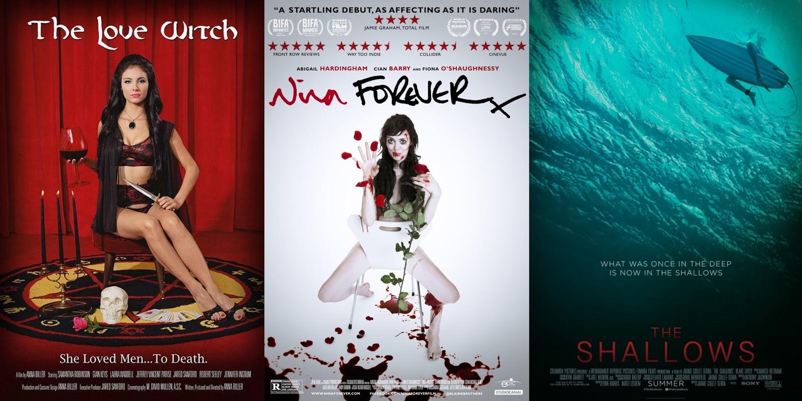 Top Ten Horror Movies of 2016