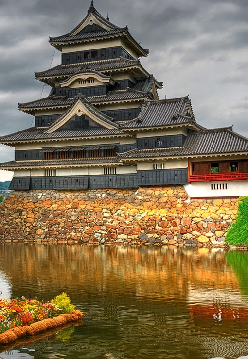 Castle, Matsumoto,japan