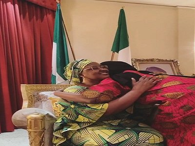 Buhari's daughter out of self-isolation