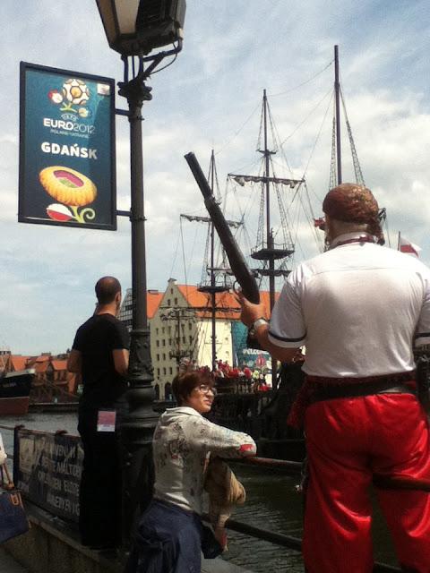 Pirate in Gdansk, Poland