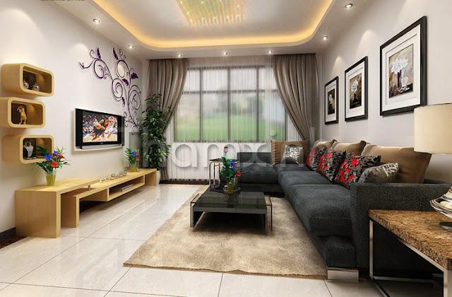 Thảm trải sàn cho phòng khách của Thảm Xinh
