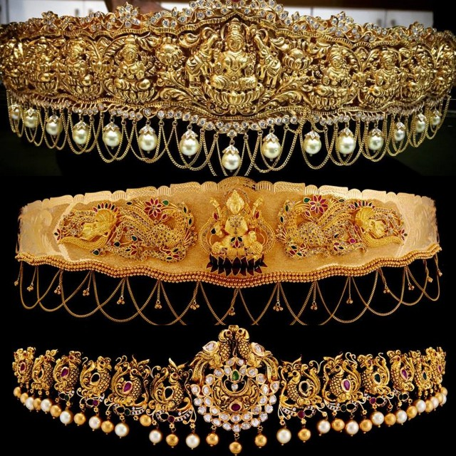Vaddanam Designs By SRJ Fine Jewellry Jewellery Designs