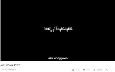 Aku wong jowo yowis ben