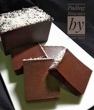 Resep Cara Membuat Puding Coklat Brownies Roti Tawar