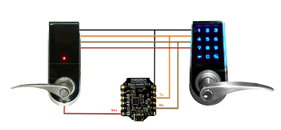 Controlling my Electronic Door Lock using an Arduino