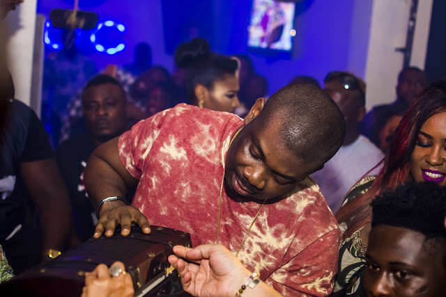 don jazzy surprise birthday party