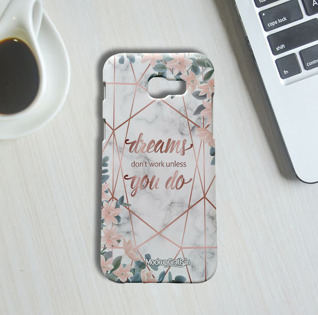 Mockup Gratis Custom Case Samsung Galaxy A5 (2017)