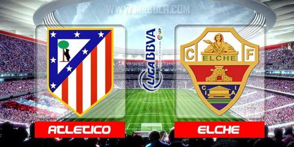 مشاهدة مباراة اتلتيكو مدريد وألتشي بث مباشر