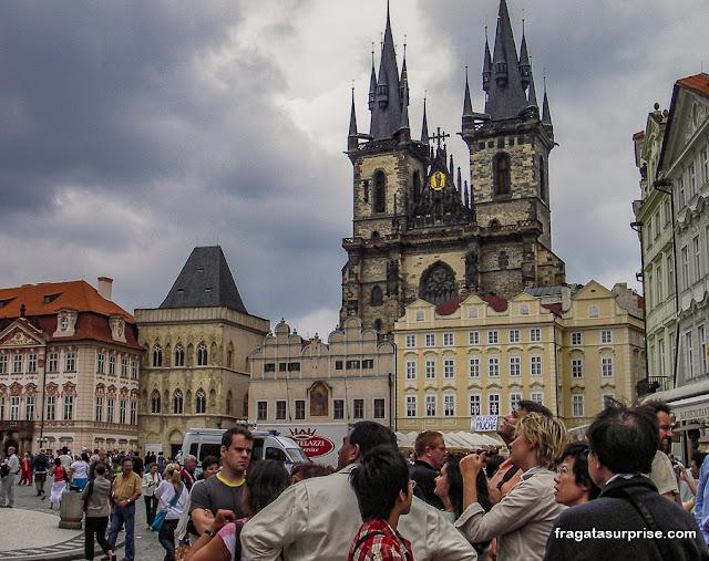 Igreja de Nossa Senhora em Týn, Praça da Cidade Velha, Praga