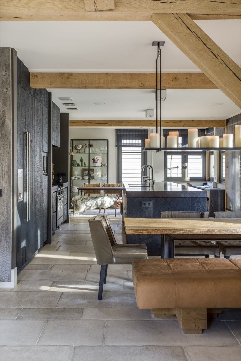 A mix of rustic and modern in The Netherlands