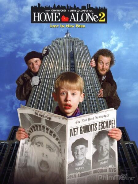 O nha mot minh 2 - Home Alone: Lost in New York 1992 Vietsub