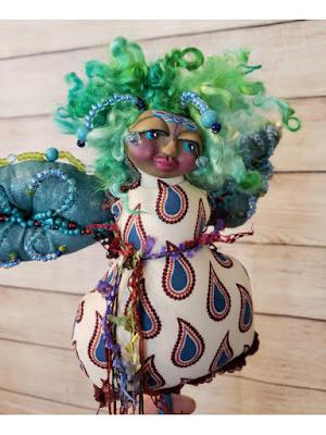OOAK Dragonfly Spirit Doll