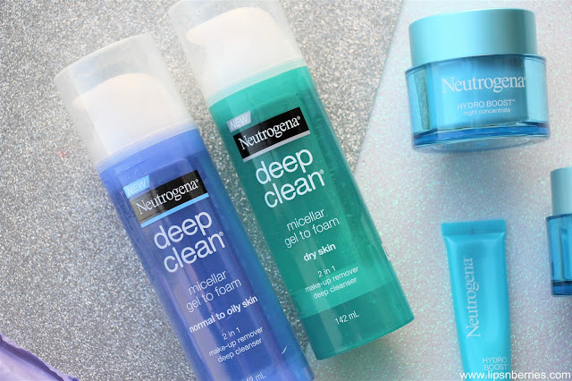Neutrogena Deep Clean Micellar Gel to Foam dry skin cleanser review