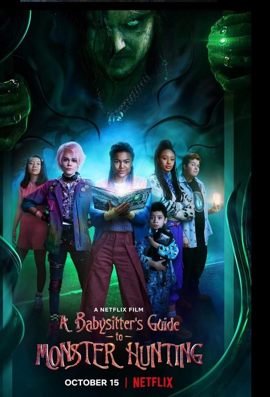 A Babysitter's Guide to Monster Hunting 2020 x264 720p Esub NetFLix Dual Audio Hindi English GOPI SAHI