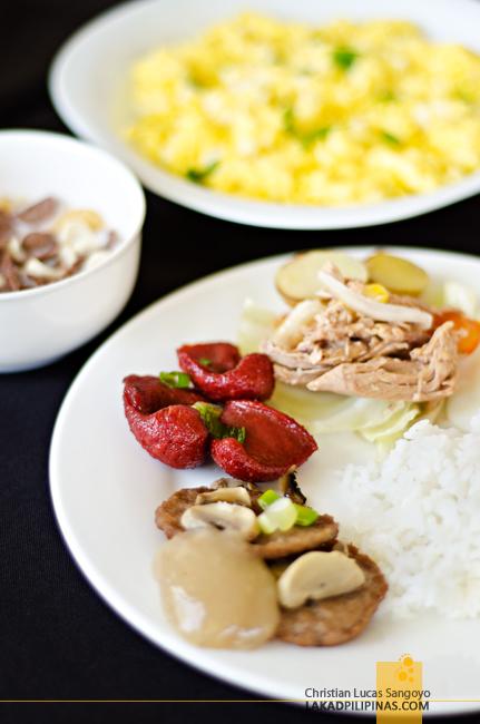 Microtel Cabanatuan Breakfast Buffet