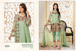 Shree fab Ramsha vol 2 Pakistani Suits wholesale Price