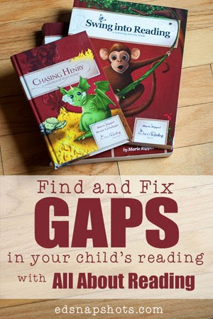 Find and Fix the Gaps in Your Child's Reading with All About Reading | pambarnhill.com
