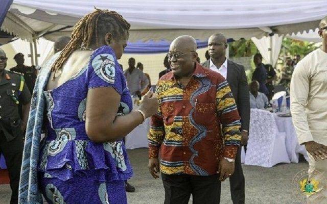 Nana Akufo-Addo's new found love; African prints