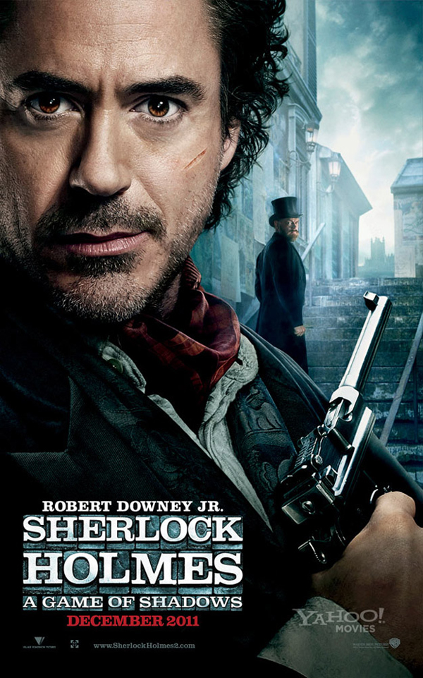Póster de Sherlock Holmes: A Game of Shadows con Robert Downey Jr.