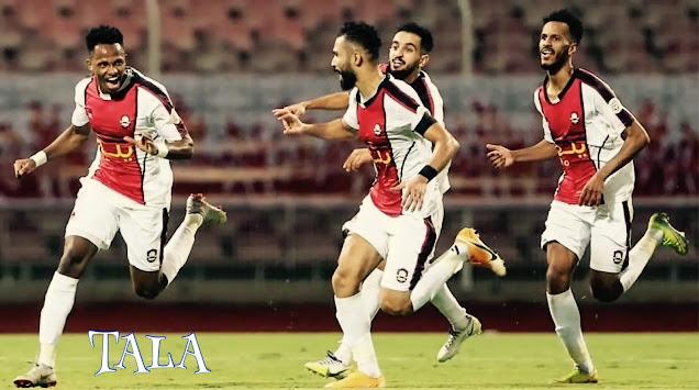 فوز الرائد على الوحدة في الدوري السعودي