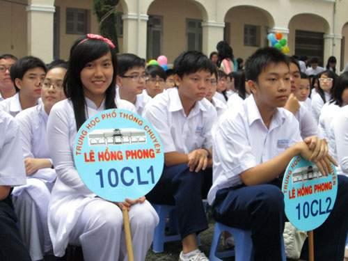 Từ ngày 2/5, Trường THPT chuyên Lê Hồng Phong nhận hồ sơ tuyển sinh lớp 10 - Ảnh 1