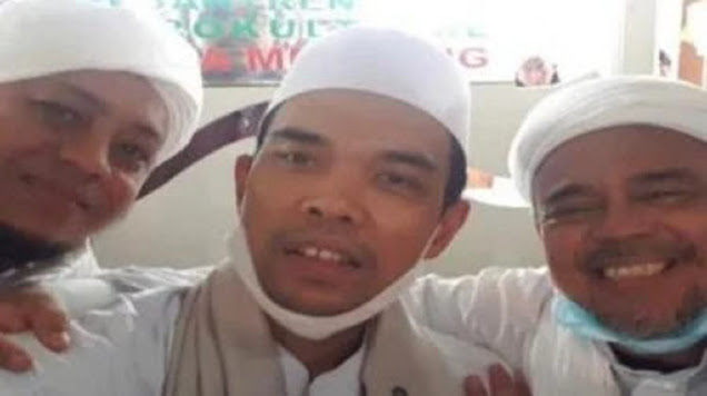 Temui Habib Rizieq, UAS Singgung soal SBY Jenderal yang Ganteng
