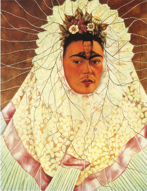 Фрида Кало - Автопортрет в образе Техуаны. 1943