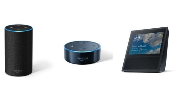 Alexa-enabled Amazon devices