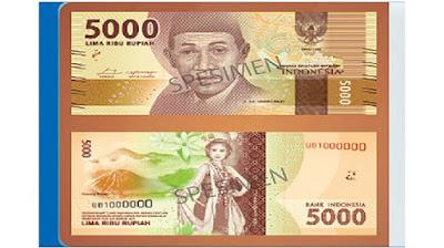 Uang Baru 5000