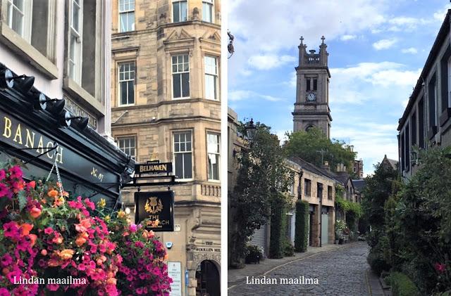 Edinburg vanha kaupunki
