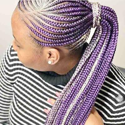 Latest Cornrow Braids for Black Women