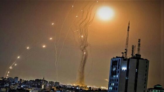 """فلسطين: ما هي """"القبة الحديدية"""" التي تعترض الصواريخ المنطلقة من غزة؟"""