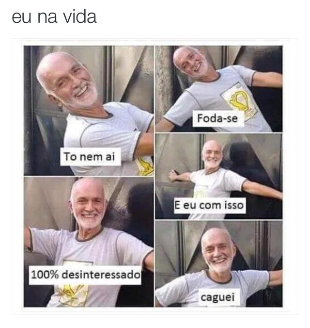 "Meme para Facebook ""Eu na vida"""