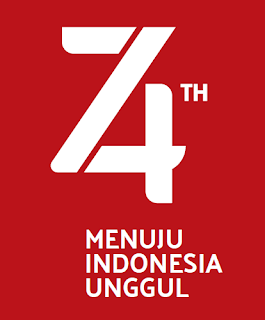 Agustus ialah tanggal yang bersejarah bagi bangsa Indonesia yaitu tanggal diproklamasika TAS:  LOGO HUT RI KE-74 INDONESIA UNGGUL