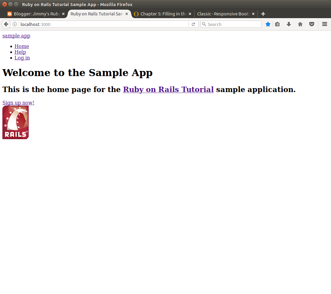 Jimmy's Ruby on Rails Quest: The Layout in My Prefered Style