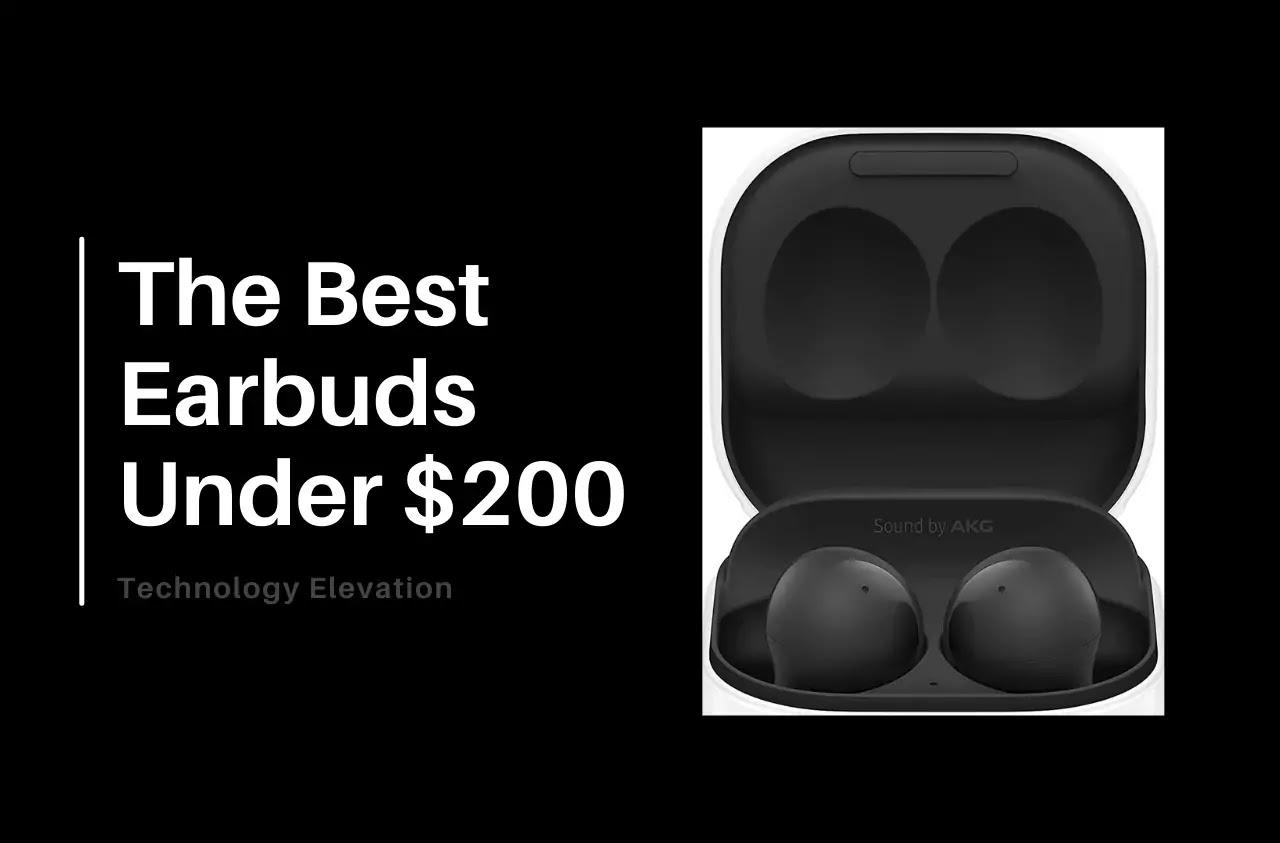 8 Best Earbuds Under 200
