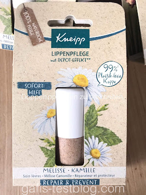 Lippenpflege mit Depot-Effekt von Kneipp
