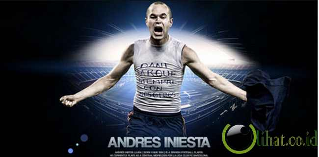 Andres Iniesta (Barcelona)