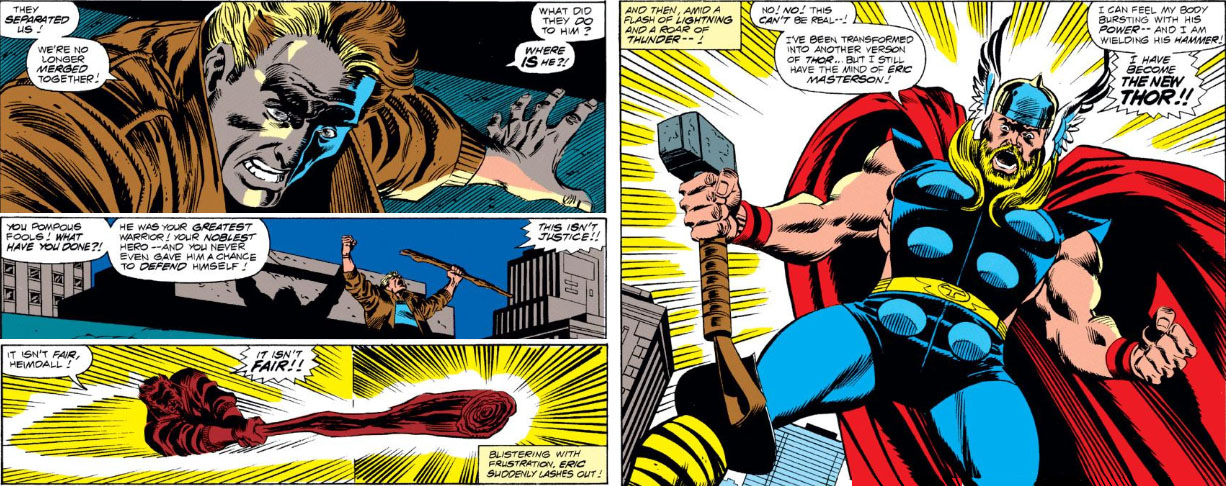 the peerless power of comics whosoever holds this hammer
