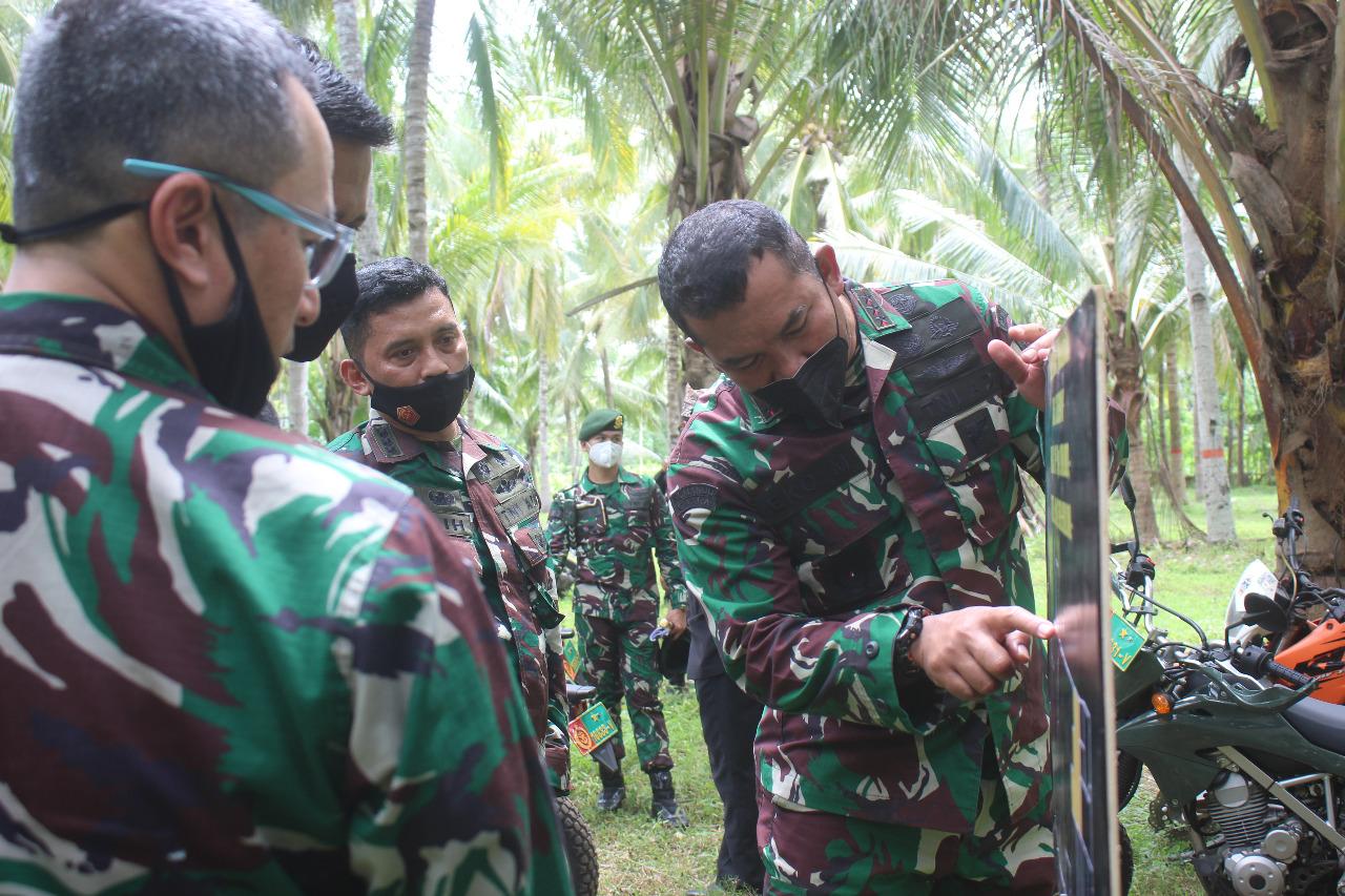 Pangkostrad Tinjau Lahan Relokasi Satuan Yonif Raider 515 di Banyuwangi