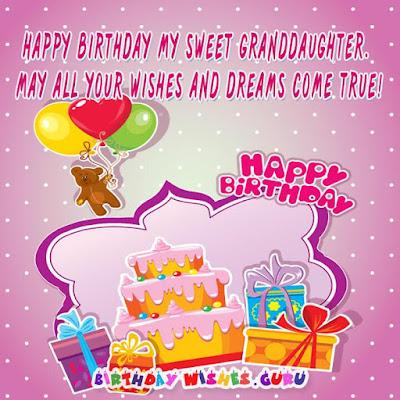 Happy 20th Birthday Granddaughter