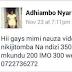 Kenyan woman soliciting porn on faceboook