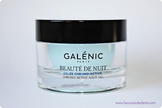 Beauté de Nuit Galenic belleza cuidado facial crema de noche Pierre Fabre