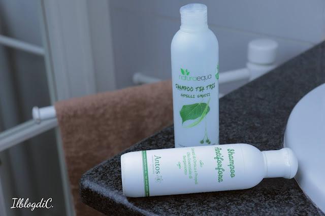 Haircare Routine shampoo
