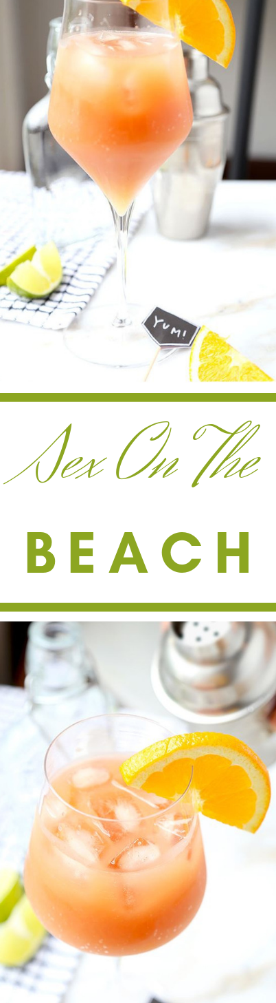 THE BEST SEX ON THE BEACH COCKTAIL #sangria #cocktail #part #healthydrink #fresh