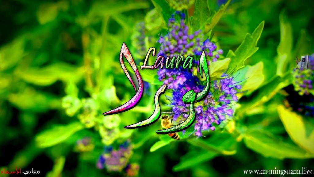 معنى اسم لورا, وصفات حاملة, هذا الاسم, Laura,
