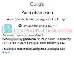 kenapa google tidak dapat memverifikasi akun saya